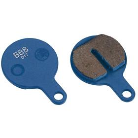 BBB DiscStop BBS-76T Disc Brake Pads Tektro IOX, blue